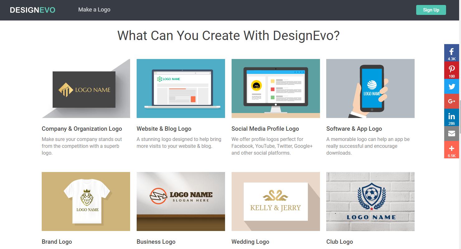 Free Logo Maker Design Custom Logos  Adobe Spark