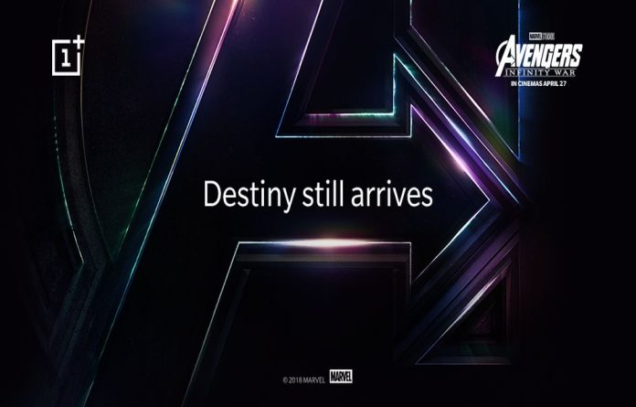 OnePlus is Collaborates with Marvel Studios for Avengers:Infinity War