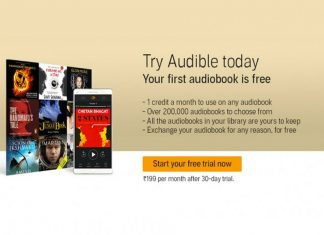 Downloadable Audio books Service Audible Launched In India