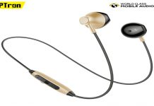 PTron Launched InTuenes Bluetooth Earphones In India