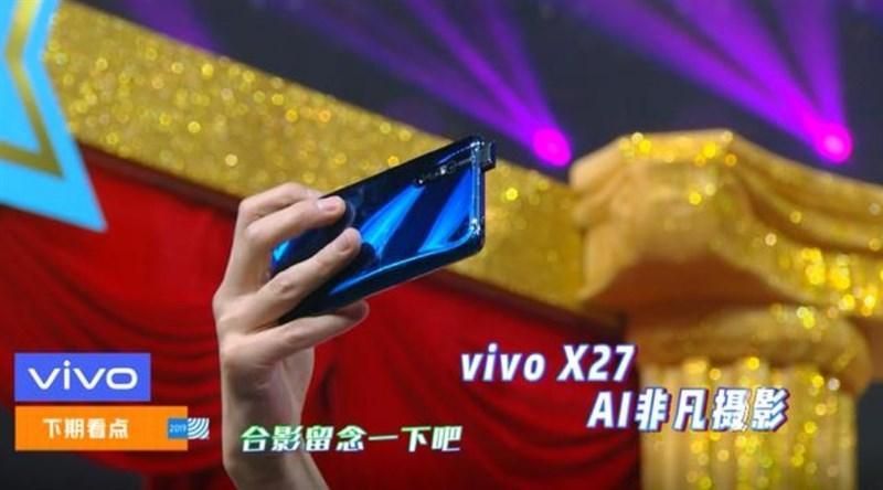Vivo X27 seen on a TV show